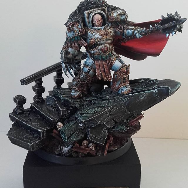 Horus the Warmaster Primarch of the Sons of Horus | Forge ...  Horus the Warma...