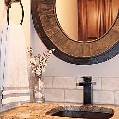 Delta Linden Rubbed Bronze Bath Hardware