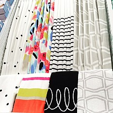 kate spade black and white curtains | curtain menzilperde